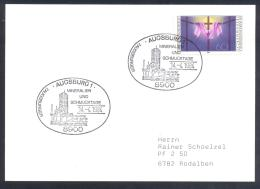 Germany Deutschland 1984 Card : Minerals Mineraux  Mineralien Und Schmucktage Augsburg - Mineralien