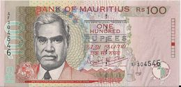 MAURITIUS=N/D    100  RUPEES         P-51     UNC - Mauritius