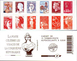 Ref. 316613 * NEW *  - FRANCE . 2008. FACESE OF THE 5th REPUBLIC. CARAS DE LA 5 REPUBLICA - France
