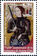 Ref. 279813 * NEW *  - FRANCE . 2012. 600 ANIVERSARIODE L ANCIMIENTO DE JUANA DE ARCO - Unused Stamps