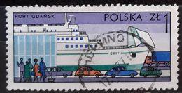 POLONIA 1976 Polish Harbours. USADO - USED. - Usados