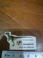 Magnet Velociraptor Dinosaure Carrefour - Magnets