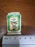 Magnet Les Poubelles Boys  Cinéma. En Vidéo 1994 - Magnets