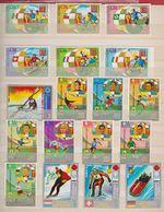 Guinée Equatoriale / Lot De Timbres / 8 Pages / Etats Divers - Guinée Equatoriale