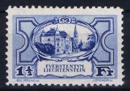 Liechtenstein: 1925 Mi Nr 71 MH/* - Liechtenstein