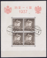 POLAND 1937 Mi Block 2 , Used - Blokken & Velletjes