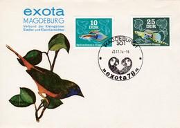 DDR Magdeburg  Exota 10.11.1978. Verband Der Kleingärtner Siedler Und Kleintierzüchter. Mi: 2176+2179 Zierfische - [6] République Démocratique