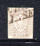 ASI25 - LOMBARDO VENETO 1863, Francobolli Per Giornali Il  N. 11  Usato . RAYBAUDI - Lombardo-Veneto