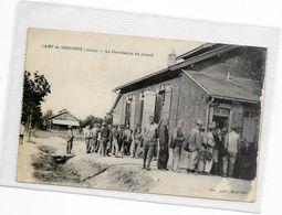 CPA Camp De SISSONNE Réservistes Au Repos - Sissonne