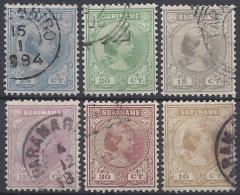 NETHERLANDS  SURINAME 1893 Nº 23/28 - Surinam ... - 1975