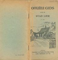 Guide Officiëele Gids Voor De Stad Lier (47 Blz , 10,5 X 21 Cm) - Lier