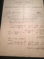 5-7-1911-OLGIATE OLONA-CAPOMASTRO-GUIDI CARLO - Italie