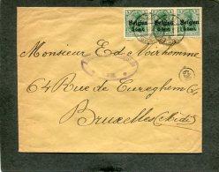 Deutsches Reich Landespost Belgien Brief 1914-1918 - Besetzungen 1914-18