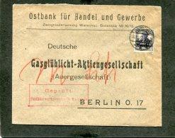Deutsches Reich General Gouvernement Brief 1914-1918 - Besetzungen 1914-18