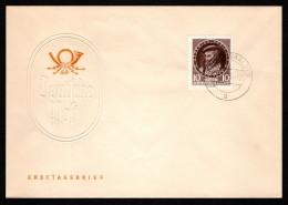 GDR SC #271 1955 Georgius Agricola FDC 11-21-1955 - FDC: Covers