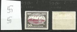 Lettland Latvia 1928 Michel 136 WM Normal Vertical * - Latvia