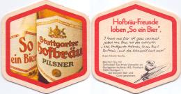 #D200-300 Viltje Stuttgarter Hofbräu - Portavasos