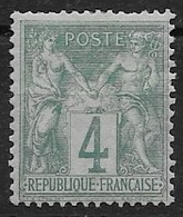FRANCE N°63 - NEUF * - 1876-1878 Sage (Tipo I)
