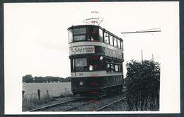 UK RK3536 Leeds Tram 187 On Service 22 Templenewsam Strassenbahn - Photos