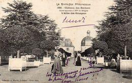 CPA CHATEAU DES ROCHERS - L'ALLEE DES ORANGERS - France