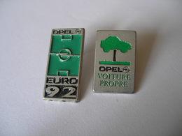 2 Pin's OPEL - Opel