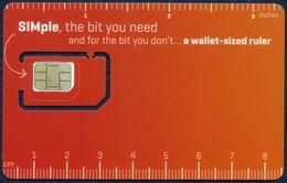 IRELAND - IRLANDE - IRLAND - IRLANDA GSM (SIM) CARD METEOR SIMple MINT UNUSED - Ireland