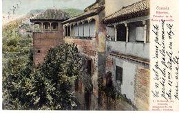 Granada Alhambra Peinador De La Reina Y Generalife - Granada