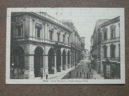 CHIETI -1949  - CORSO MARRUCCINO E PALAZZO BANCA D ITALIA    -F/P  ---BELLISSIMA  - - Chieti