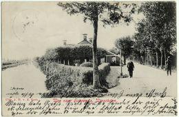 Weg Naar Scheemda, Winschoten, Alte Ansichtskarte 1909 - Winschoten