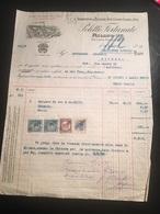 1-10-1931-MILANO-VIA LAURA MANTEGAZZA-DITTA POLETTI FORTUNATO-STABILIMENTO DI TESSITURA LINO-CANAPE-COTONE-E JUTA - Italy