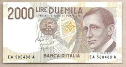 Italia - Banconota Non Circolata FdS Da 2000 Lire P-115 - 1990 - [ 2] 1946-… : Republiek