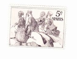 Vignette Militaire Delandre - 5ème Régiment De Spahis - Erinnofilie