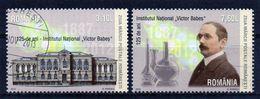++ RUMANIA / ROMANIA / ROEMENIE Año 2012 Dia Del Sello - Victor Babes Usados - 1948-.... Repúblicas