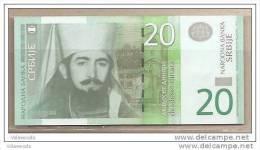 Serbia - Banconota Non Circolata FdS Da 20 Dinari P-55a - 2011 - Serbia