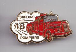 Pin's Sapeurs Pompiers Réf 6215 - Firemen