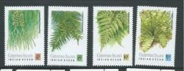 Christmas Island 1989 Ferns Set 4 MNH - Christmas Island