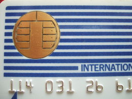 CARTES PASTEL - CARTE A PUCE INTERNAT BULL AVEC 8 TROUS + BARRE VERTICALE - 15 N° DORES - - Imp Ofs - TRES RARE - France