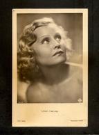 LILIAN HARVEY   POSTCARD VINTAGE FROM ROSS 1930s - Attori
