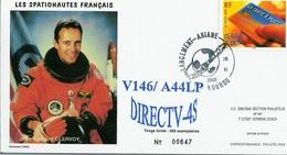 ESPACE - ARIANE  Vol Du 2001/11 V146 - Snecma - 1 Document - FDC & Commemoratives