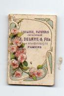 Calendrier De Poche 1910, Librairie J Delaye & Fils Pamiers 3,4 X 5 Cm - Calendriers