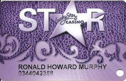 Lucky Star Casino OK - Slot Card - Casino Cards