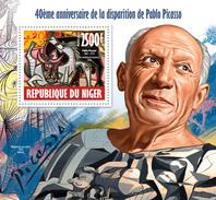 NIGER 2013 P. Picasso, Corrida - YT BF219; CV=15 € - Feesten