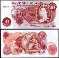 Great Britain 1966-70 10s Fforde Fine Uncirculated Condition. - 1952-… : Elizabeth II
