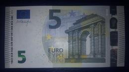5 EURO Y004F4 DRAGHI GREECE SERIE YA Perfect UNC - EURO