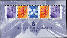 2004 Scottish Parliament Souvenir Sheet Unmounted Mint. - 1952-.... (Elizabeth II)