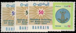 Bahrain 1969 School Education Unmounted Mint. - Bahrain (1965-...)