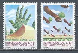 Haute-Volta YT N°520/521 Opération Sahel Vert Neuf ** - Haute-Volta (1958-1984)