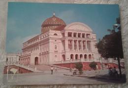 America - Brasile - Manaus - Teatro Amazonas 1985 Animata - Manaus