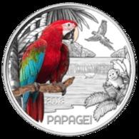 Autriche 2018 : 3€ 'Perroquet' ('Parrot'/'Papagei') Colorisée - Disponible En France - Austria