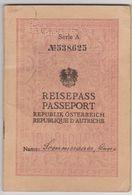 AUTRICHE Passeport 1936 AUSTRIA Passport – Reisepaß - Historische Documenten